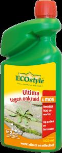 Ecostyle Ultima tegen Onkruid en Mos