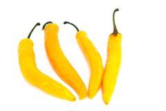 Biologische gele pepers per stuk