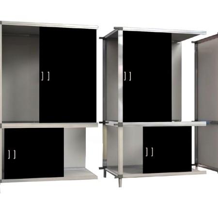 Kweekkast G-kit Bonanza uitbreidingsmodule zwart (+1m2)