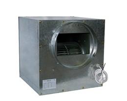 Metalen isobox 6000m3