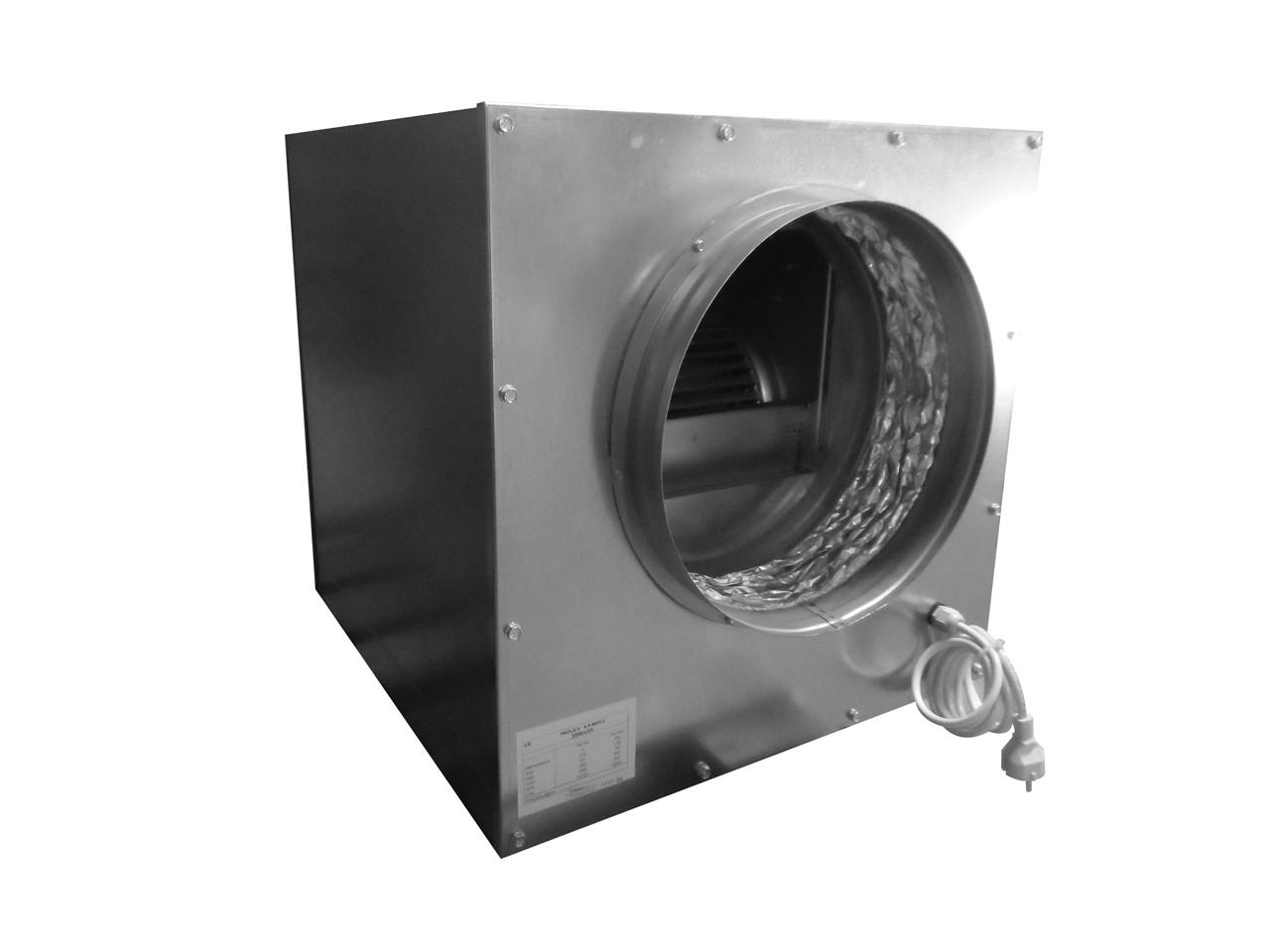 Metalen softbox 2500m3 (hangend in rubbers)