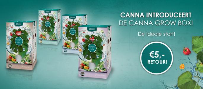 Canna Terra Grow box (pepers, tomaten of paprika)
