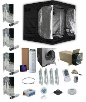 Mammoth Pro kweektent 200x200x200cm Compleet