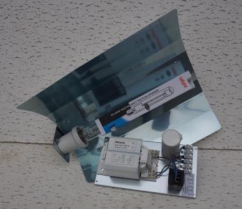 Zelfbouwset Ph ralight VSA+kap+bulb